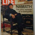1972 Nov 3 Life Magazine:  Joe Namath    Don Imus