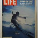 1970 March 6 Life Magazine:   Ski Racing.  Ocean Ecology Endangered by Oil Tanker Spills