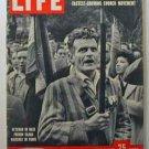 1958  June 9  Life Magazine:   Charles De Gaulle. Harold Macmillan.  Pentecostal Movement
