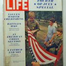 1970 July 4 - Life  Mag  U.S. Heartland  MacKinlay Kantor  Model Jane Forth   Nature Conservation