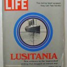 1972 Oct 13 - Life Magazine  Sinking of the Lusitania and U.S. in World War I – New Evidence