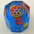 Rotary International Paperweight     Rotary Club Collectible