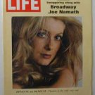1969 Jan 24 Life Magazine. Joe Namath.  NY Jets Super Bowl Win. RFK. Catherine Deneuve. World Hunger