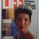 1986 April  Life Magazine.  Princess Caroline of Monaco. O.J. Simpson and Joe Namath photos.