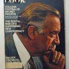 1970 Nov 17 - Look Magazine  – Walter Cronkite. Yvette Mimieux. Football Fraud. New Confederacy
