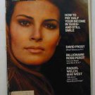 1970 March 24 - Look Magazine – Raquel Welch. Mae West. Ross Perot. David Frost