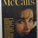 1962 January McCall's Magazine  Elizabeth Taylor and Eddie Fisher. Judy Garland. Full page photos