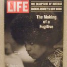 1970 Sept 11 Life Magazine Angela Davis F.B.I. Most Wanted. Matisse Sculpture. Vince Lombardi