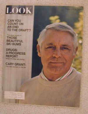 1971 Feb 23 Look Magazine  Cary Grant.  Herman Hesse.  Army Draft.  Susan Hampshire London Actress