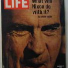 1972 Nov 17 Life Mag  Nixon Beats McGovern. New Congressmen Joe Biden, Jack Kemp, Liz Holtzman