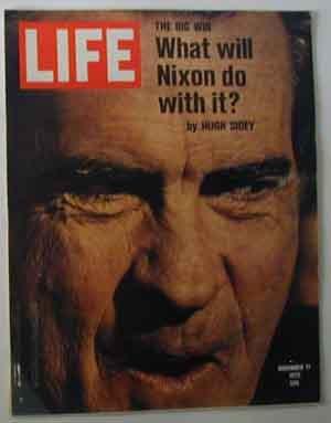 1972 Nov 17 Life Mag  Nixon Beats McGovern. New Congressmen Joe Biden, Jack Kemp, Liz Holtzman