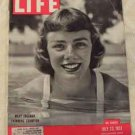 1951 July 23 Life Magazine, Robert Mitchum & Jane Russell Movie Poster. Doris Day Ad. Mary Freeman