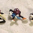 5 California RAISINS 1987&1988 Music Poses