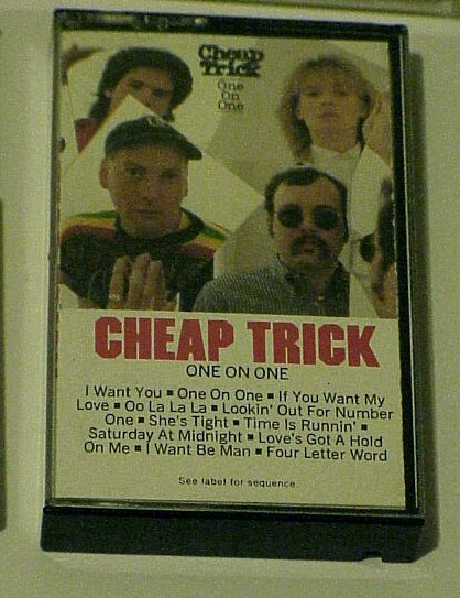 One On One - Cheap Trick (Cassette 1987)