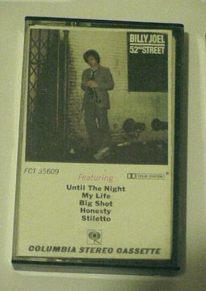 52nd Street [1978 Version] - Billy Joel (Cassette)