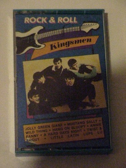 "Casette Tape ""KINGSMEN"" Rock & Roll"