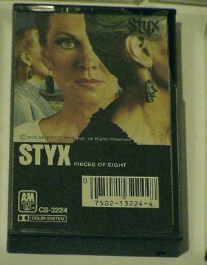 Pieces Of Eight - Styx (Cassette 1978 A&M Records)