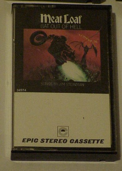 Bat Out Of Hell - Meat Loaf (Cassette 1977) Epic
