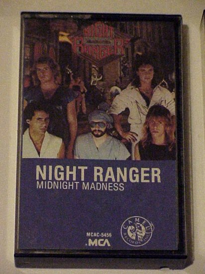 Midnight Madness - Night Ranger (Cassette 1983)