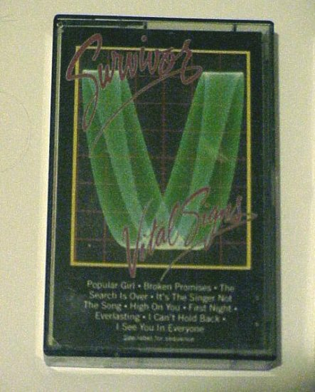 Vital Signs - Survivor (Cassette 1984) Scotti Brothers