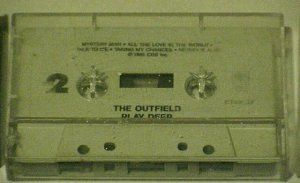 Play Deep - The Outfield (Cassette 1985 CBS)