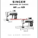 Singer 611 - 631 Service And Repair Manual
