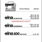 ELNA Carina / Air Electronic Service and Repair Manual