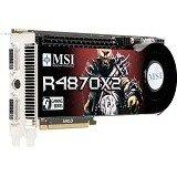 MSI R4870X2 2.0GB VC PCI-E R4870X2-T2D2G