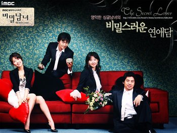 Korean Drama DVD: The secret lovers, english subtitles