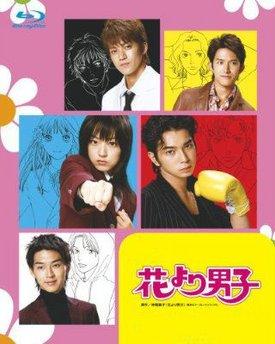 Japanese drama dvd: Hana yori dango 1 and 2, english subtitles