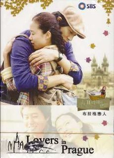 Korean drama dvd: Lovers in prague, english subtitles