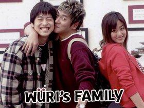 Korean drama dvd: Wuri's Family, english subtitles