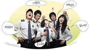 Korean drama dvd: Just run! a.k.a. Police story, english subtitles