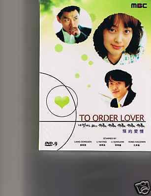 Korean drama dvd: To order lover, english subtitles