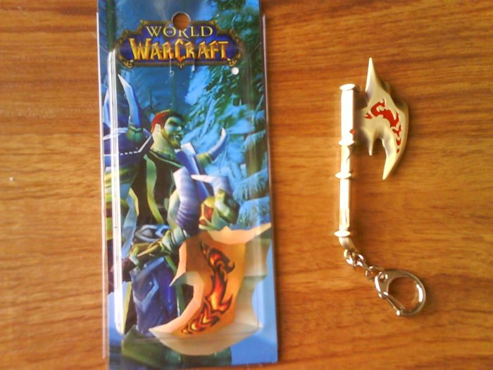 Anime World Of Warcraft Key Chain/Ring #6