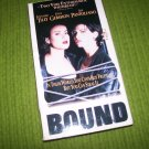 Bound Jennifer Tilly Gina Gershon vhs video