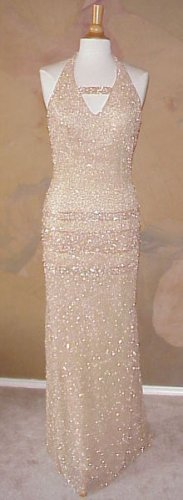 Dress Designer | #3099 - Halter Evening Gowns - Pageant Wear - Beaded Dresses