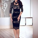 x #L33 Two Piece Mother of Bride Gowns, Short Evening Dresses