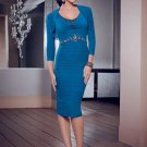 x #L41 Mother of Bride Dresses w/ Bolero Jacket
