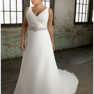 x #B2012 - Custom made Plus Size Wedding Gowns