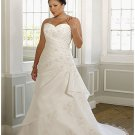 x #B2015 - Custom PLus Size Bridal Gowns