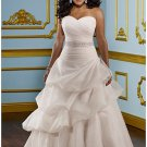 x #B2023 - Custom Bridal Gowns for Plus Size Women
