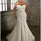 x #B2025 Lace Plus Size Bridal Gowns