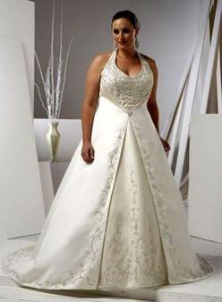 x - Plus Size Lace Bridal Gowns for Larger Women