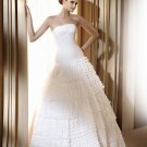 #BDW-016 x | Tiered Bridal Gowns, Layered Organza Wedding Dresses