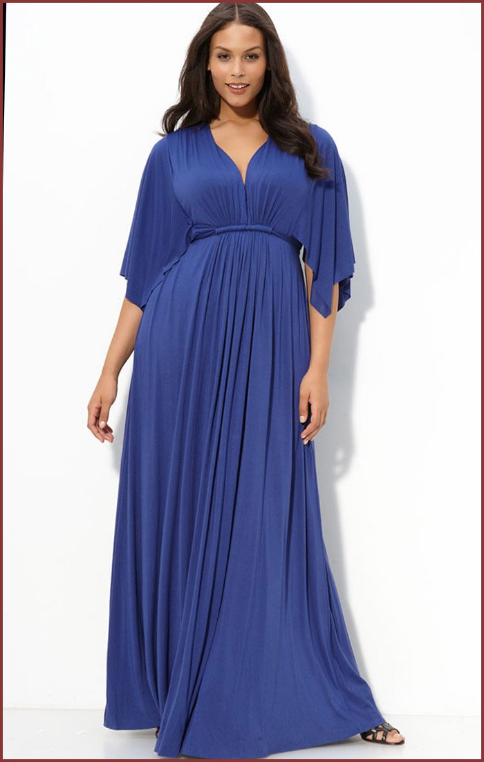Darius Cordell Plus Size Formal Wear - Long Sleeve Gowns