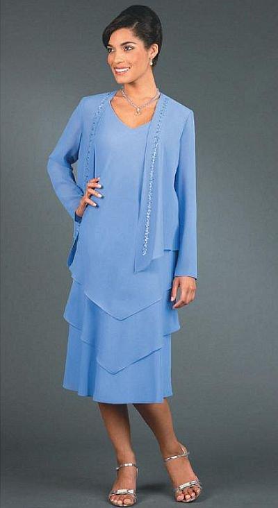Style 2013-M46 - 2 pc Plus Size Mother of Bride Dresses