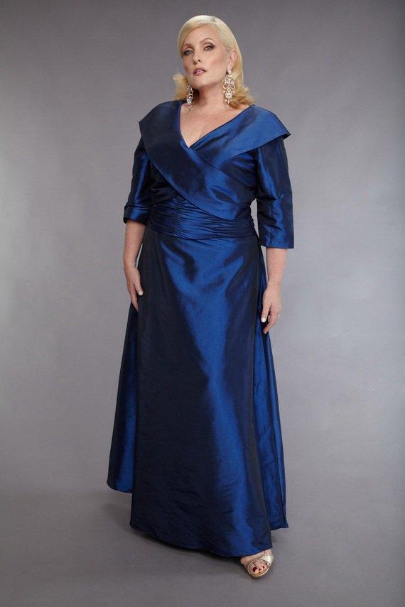 Darius Cordell Mother of Bride Evening Dresses for Plus Size Women