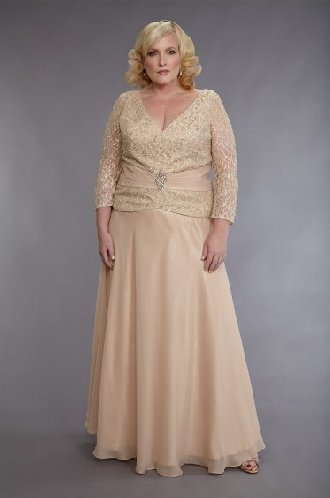 Darius Cordell Fashion | Plus Size Dresses, Long Sleeve Mother of Bride Gowns