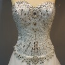 Darius Cordell #E4315R Corset Bodice Bridal Gowns, Beaded Wedding Dresses